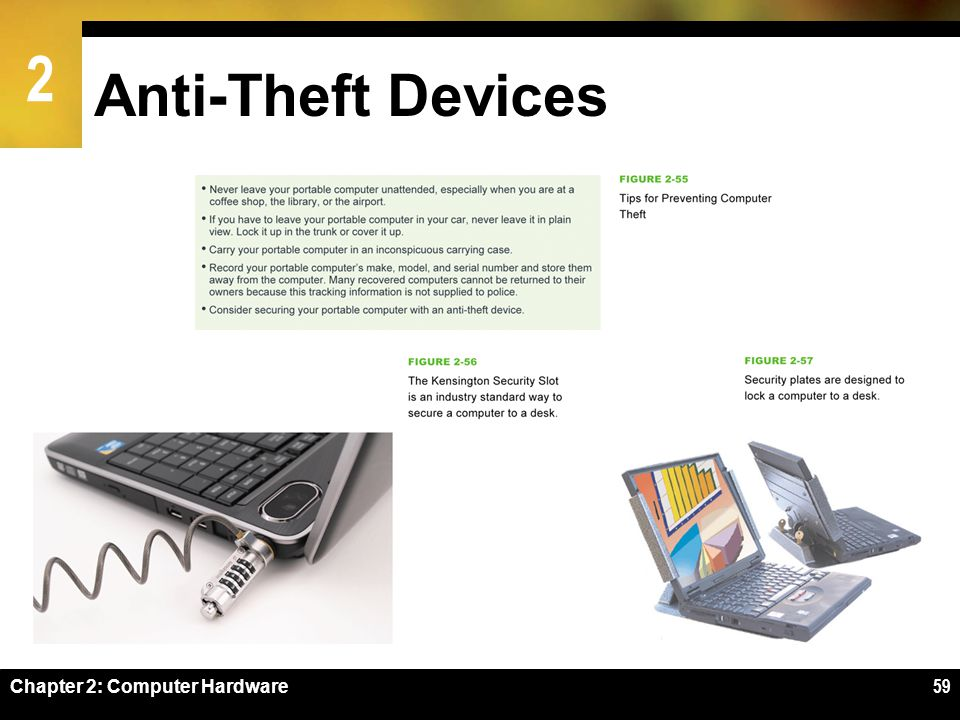 Anti-Theft Devices Chapter 2: Computer Hardware