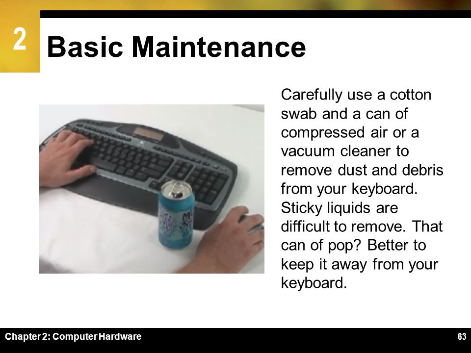Basic Maintenance