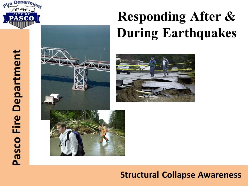 Responding After & During Earthquakes