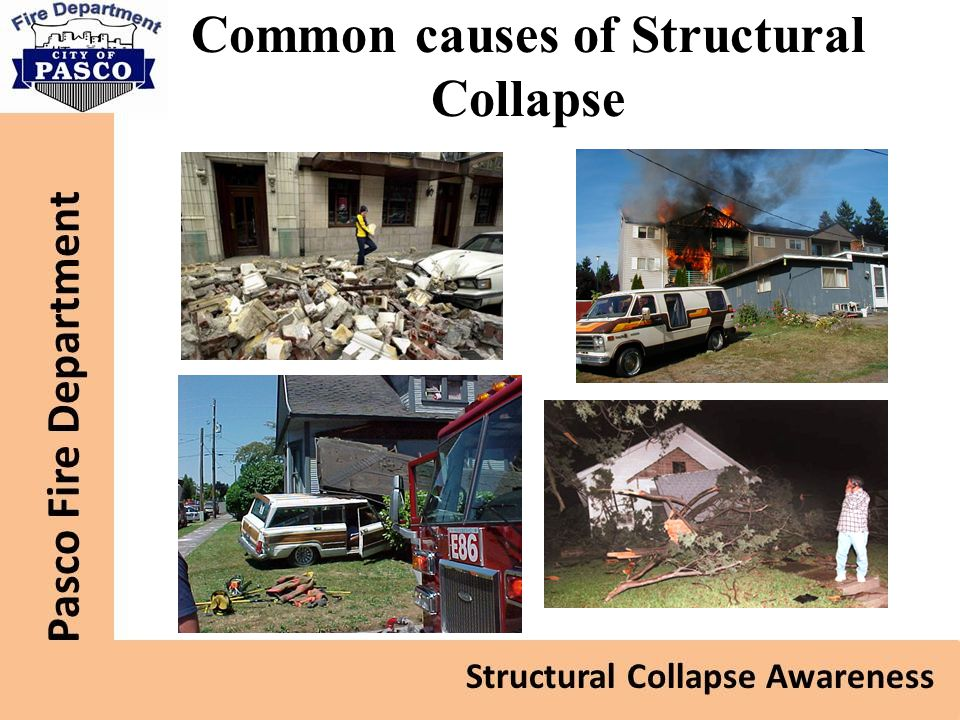 Common causes of Structural Collapse