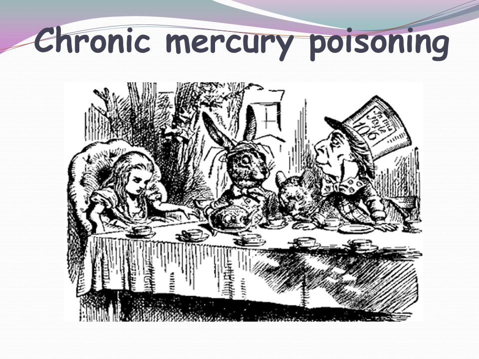 Chronic mercury poisoning