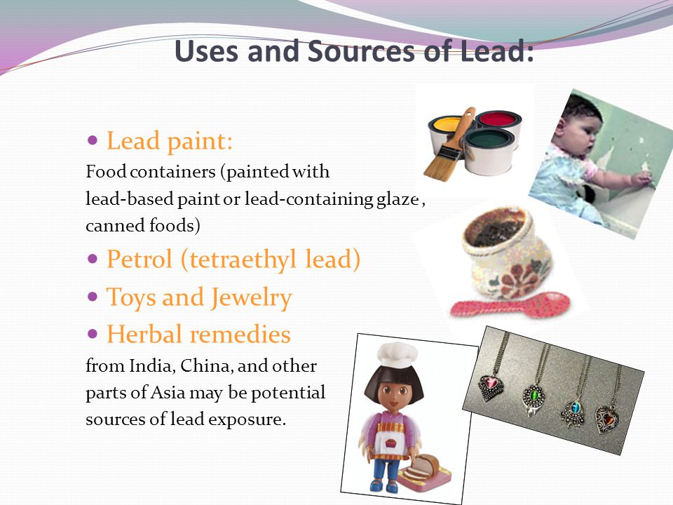 Uses and Sources of Lead: