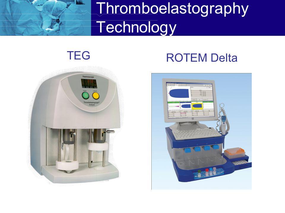 Thromboelastography Technology