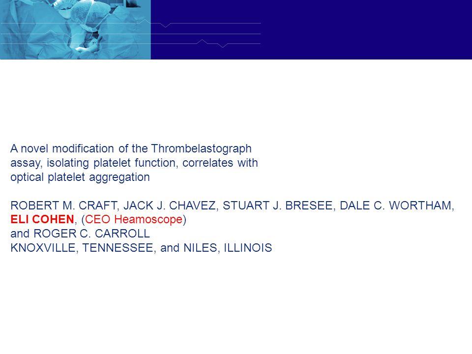 A novel modification of the Thrombelastograph
