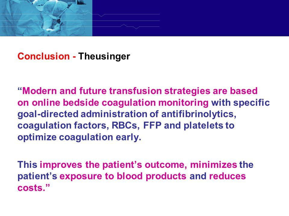 Conclusion - Theusinger