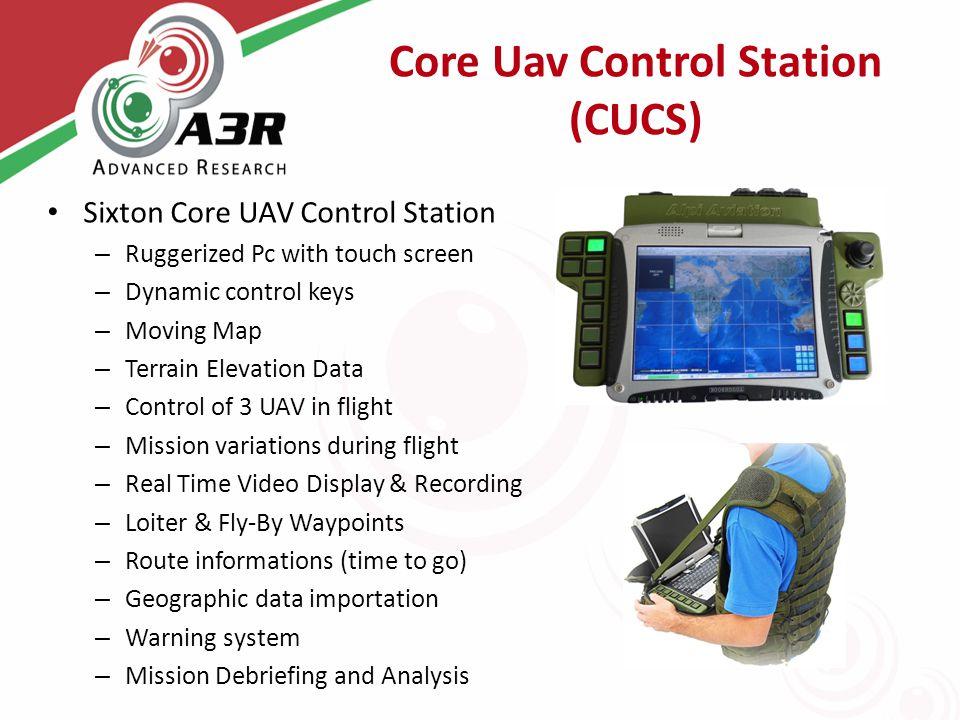 Core Uav Control Station (CUCS)