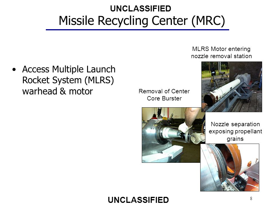 Missile Recycling Center (MRC)