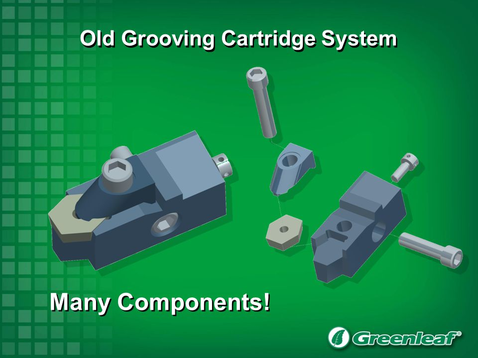 Old Grooving Cartridge System