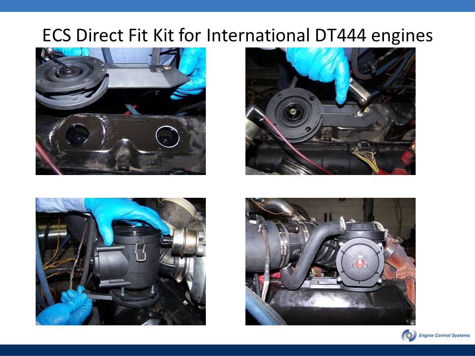 ECS Direct Fit Kit for International DT444 engines