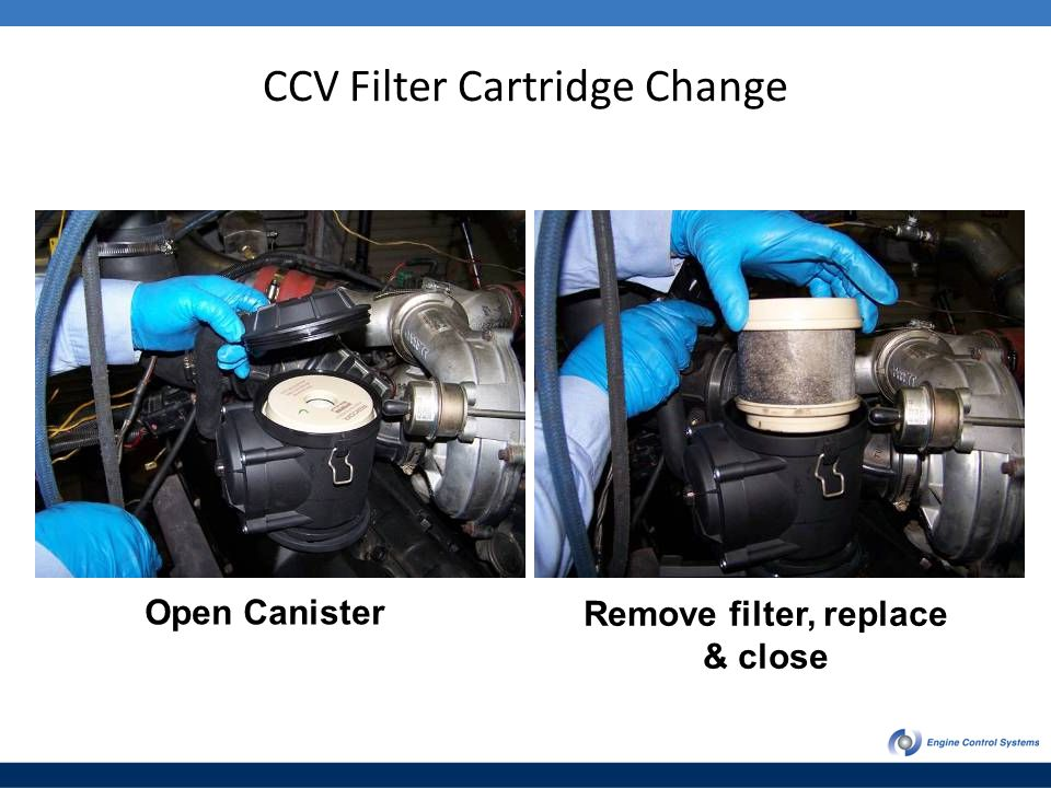 CCV Filter Cartridge Change