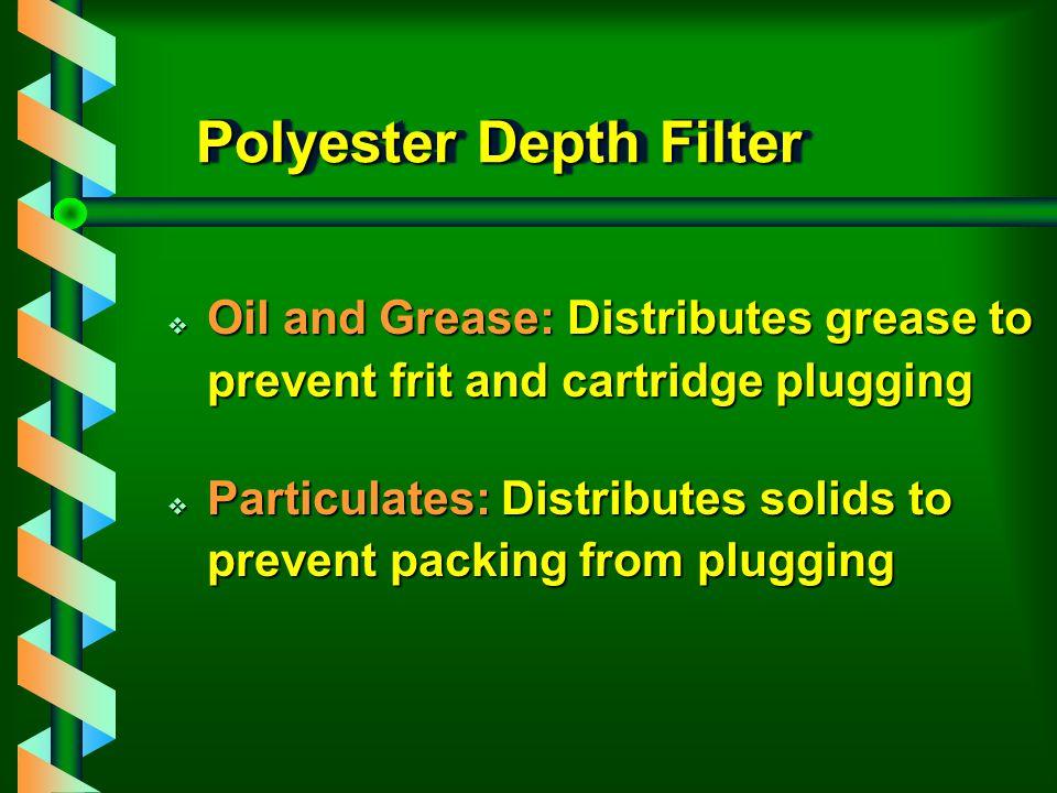Polyester Depth Filter