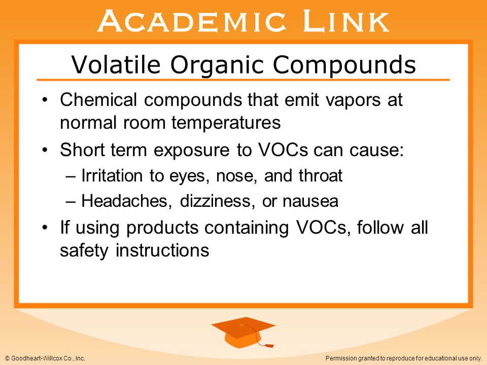 Volatile Organic Compounds