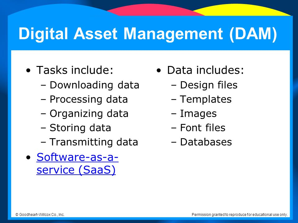 Digital Asset Management (DAM)