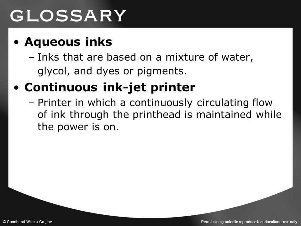 Continuous ink-jet printer