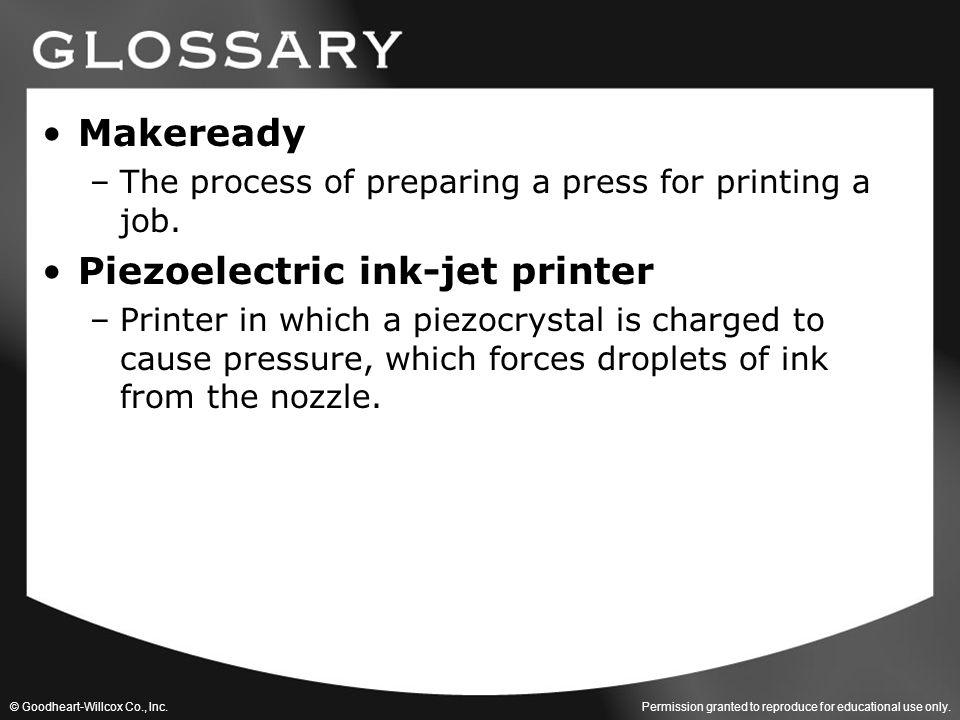 Piezoelectric ink-jet printer