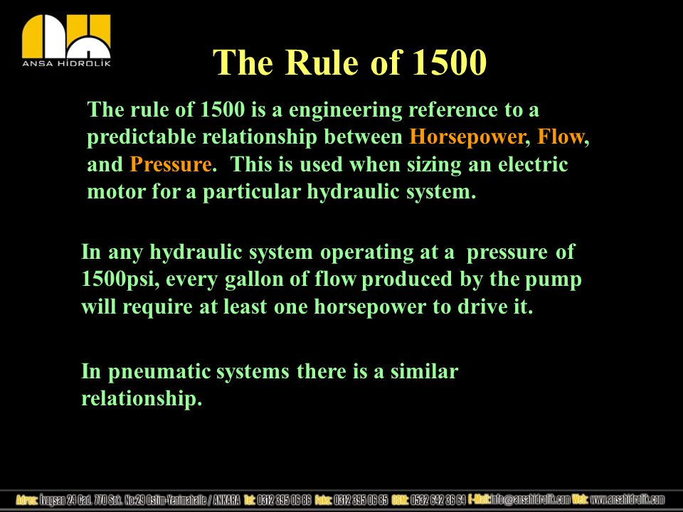 The Rule of 1500