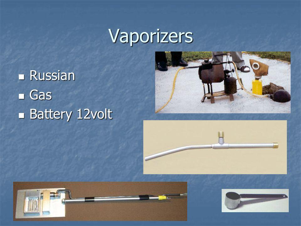 Vaporizers Russian Gas Battery 12volt