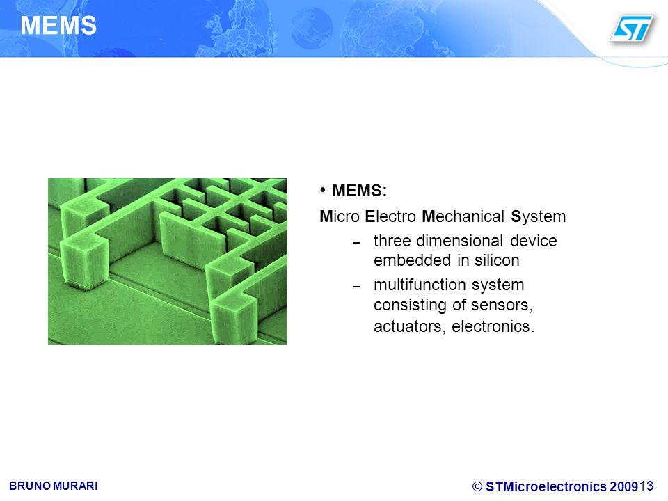 MEMS MEMS: Micro Electro Mechanical System