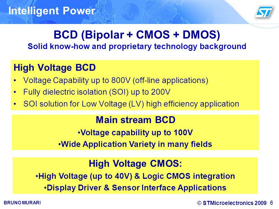 BCD (Bipolar + CMOS + DMOS)