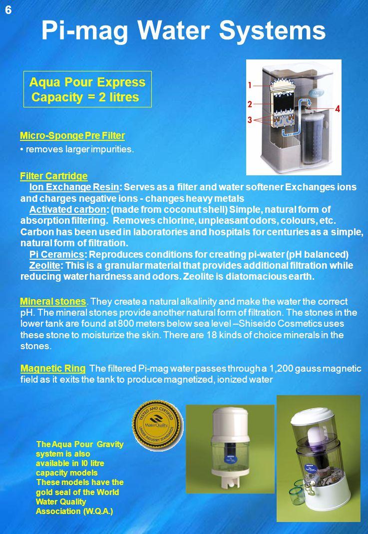 Pi-mag Water Systems Aqua Pour Express Capacity = 2 litres 6