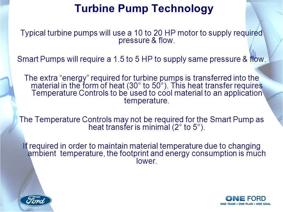 Turbine Pump Technology