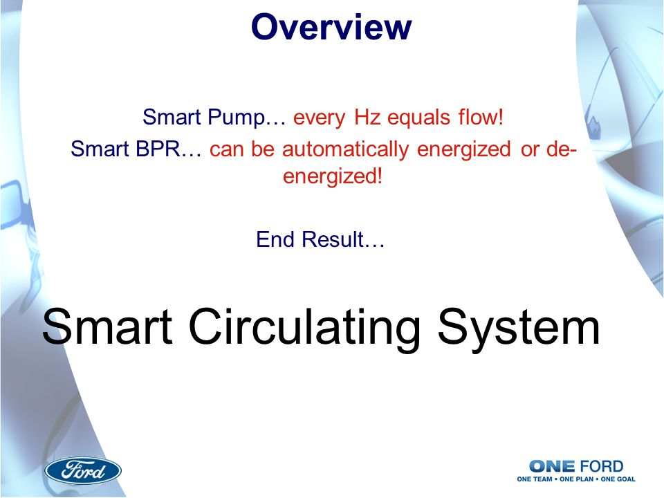 Smart Circulating System