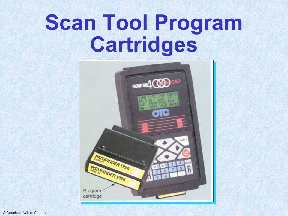 Scan Tool Program Cartridges