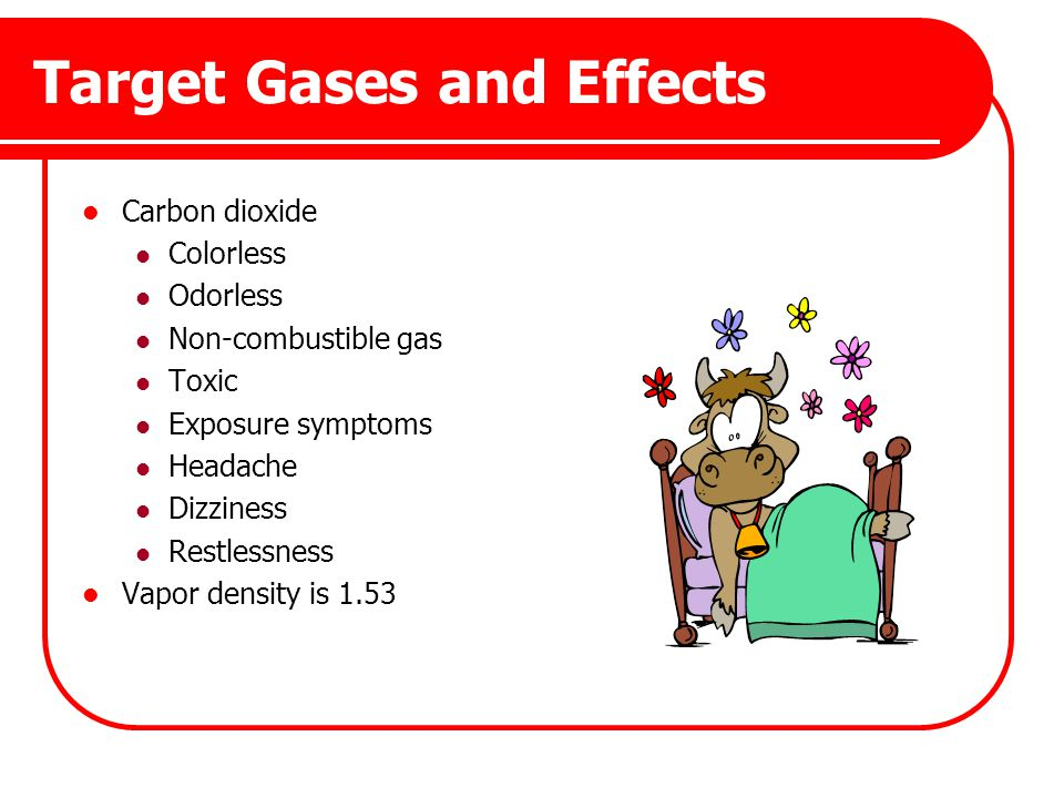 Target Gases and Effects