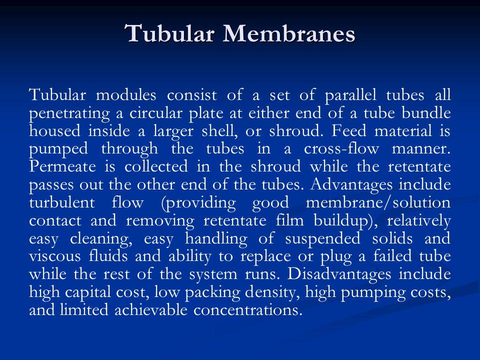 Tubular Membranes