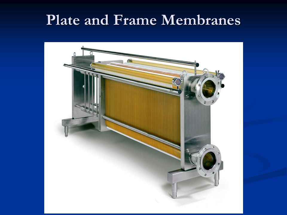 Plate and Frame Membranes