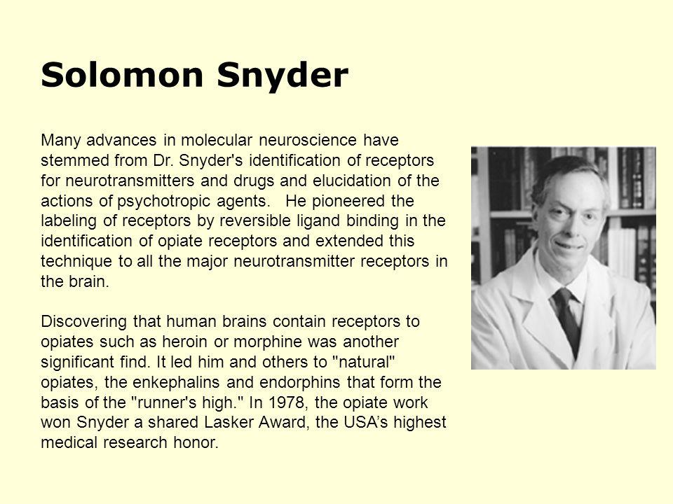 Solomon Snyder