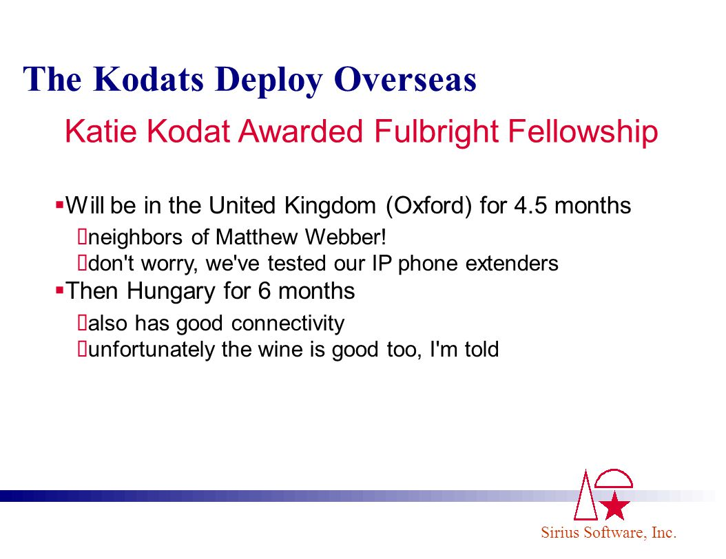 Katie Kodat Awarded Fulbright Fellowship