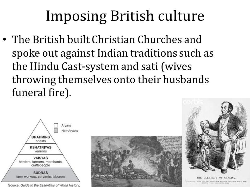 Imposing British culture