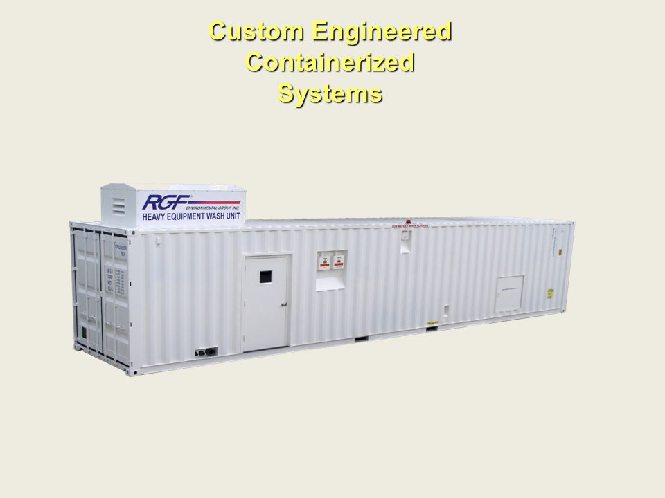 Custom Engineered Containerized Systems