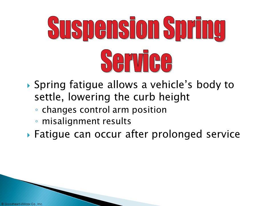 Suspension Spring Service