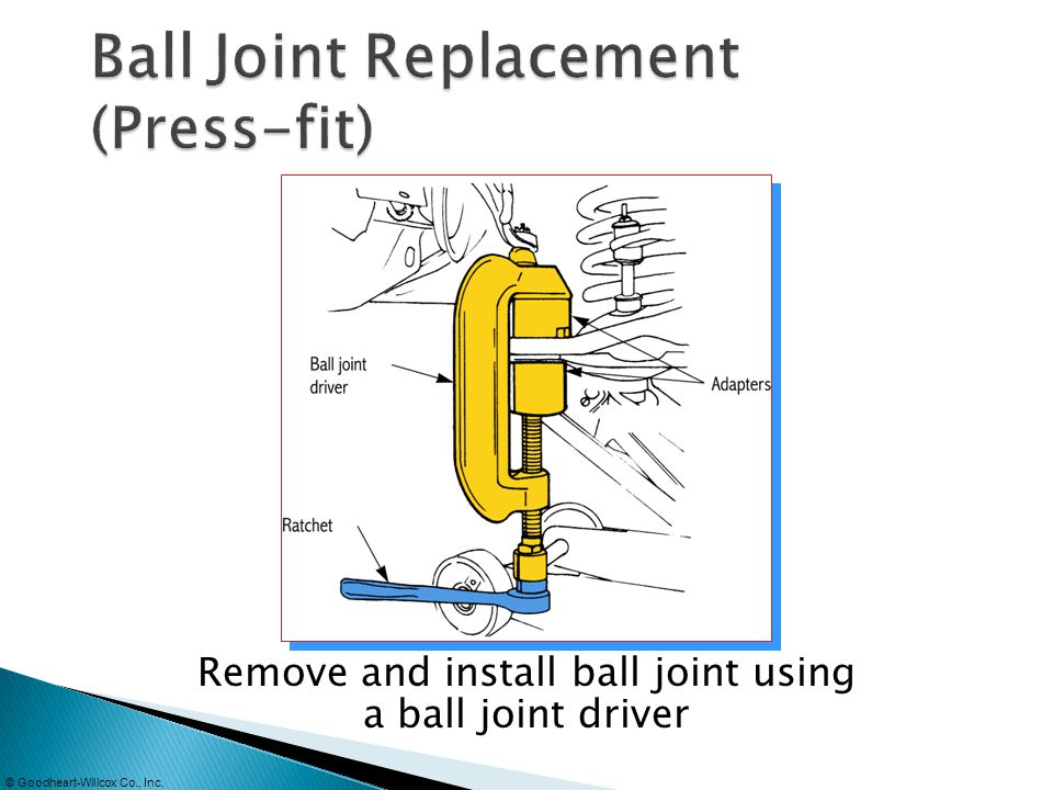 Ball Joint Replacement (Press-fit)