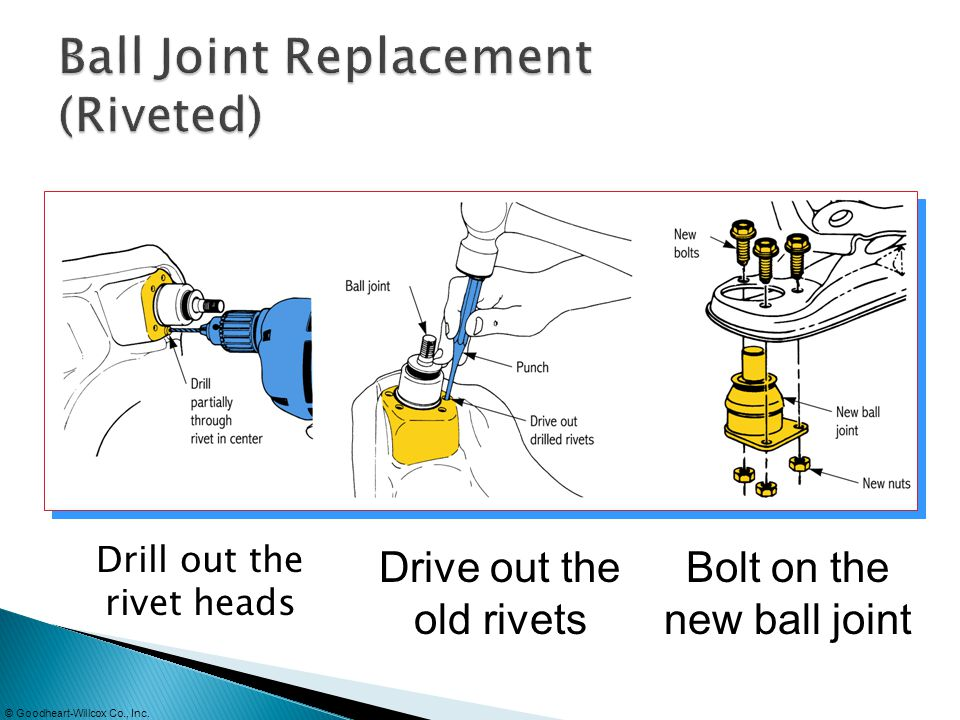 Ball Joint Replacement (Riveted)