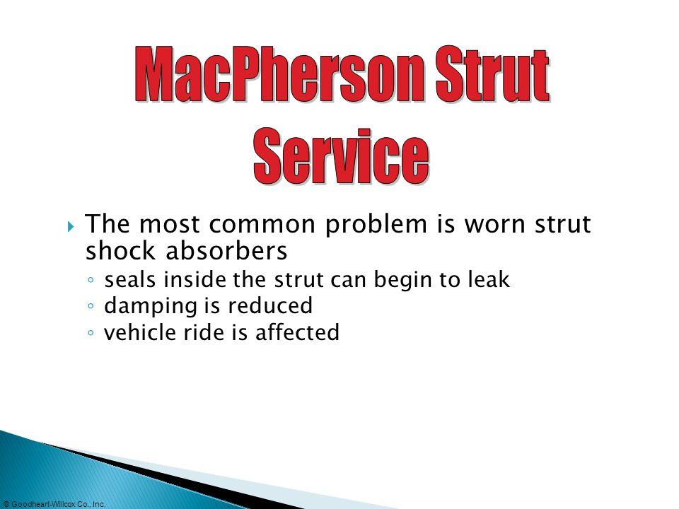 MacPherson Strut Service