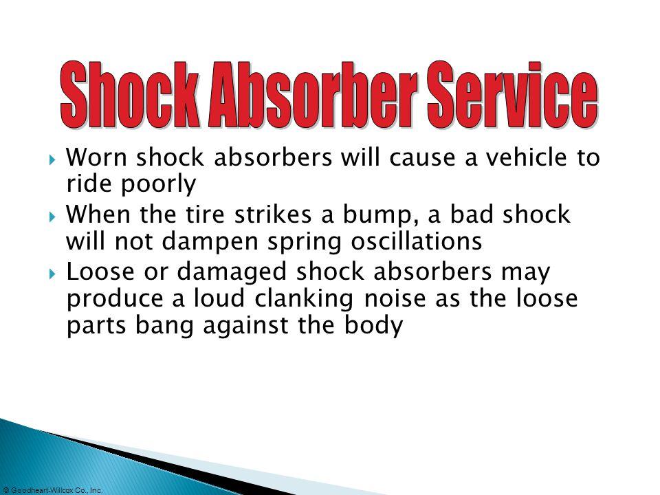 Shock Absorber Service