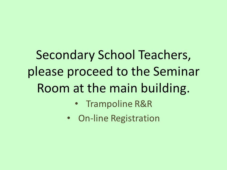 Trampoline R&R On-line Registration