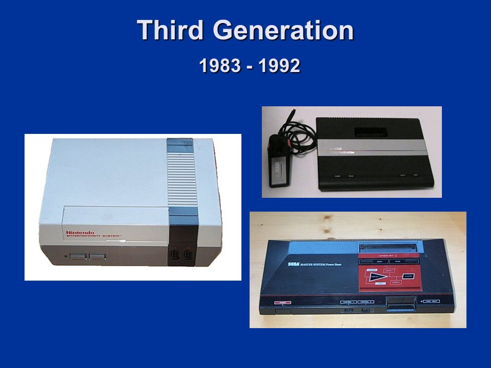 Third Generation 1983 - 1992