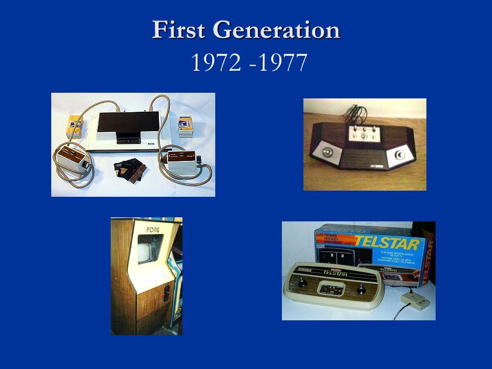 First Generation 1972 -1977