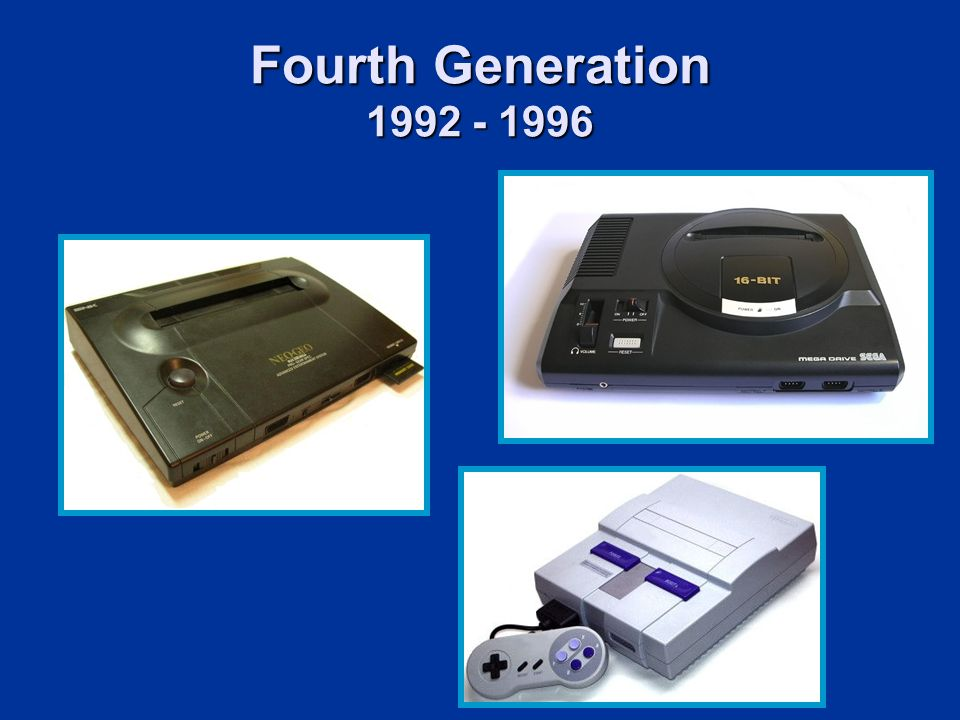 Fourth Generation 1992 - 1996