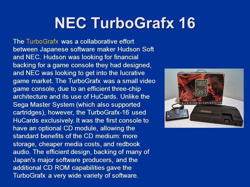 NEC TurboGrafx 16