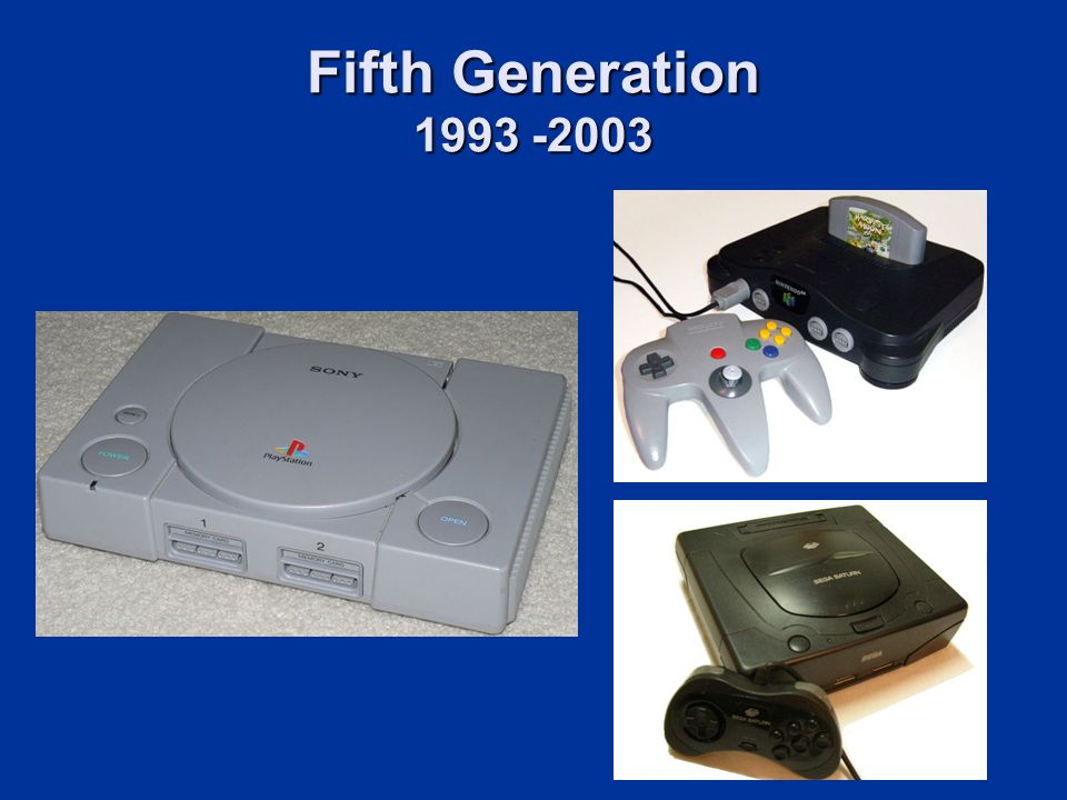 Fifth Generation 1993 -2003