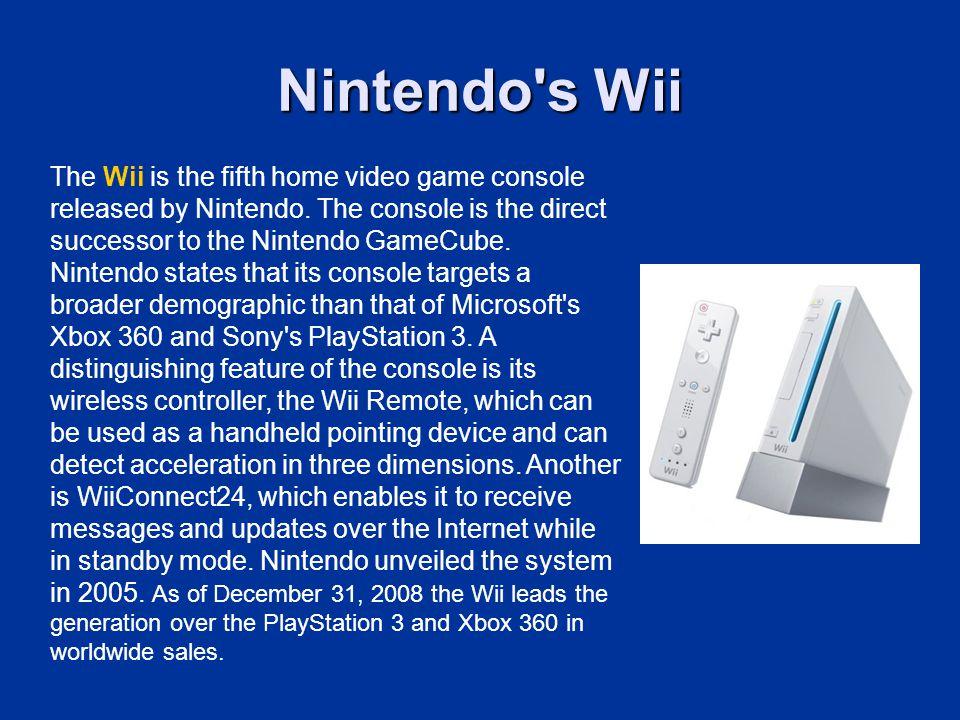Nintendo s Wii