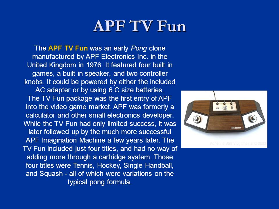 APF TV Fun