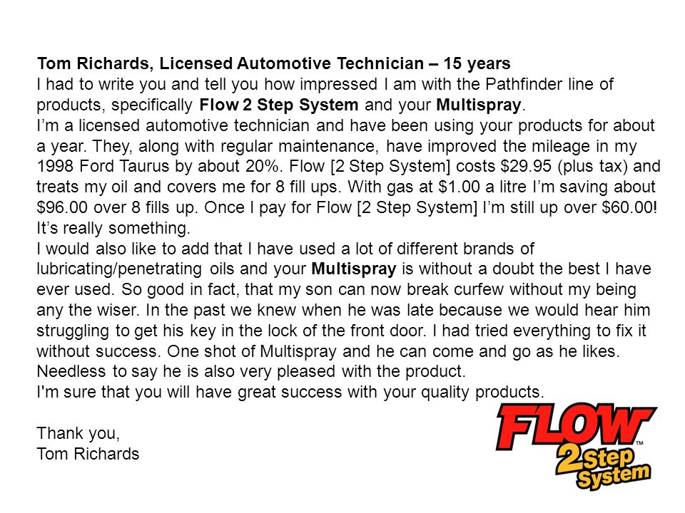 Tom Richards, Licensed Automotive Technician – 15 years