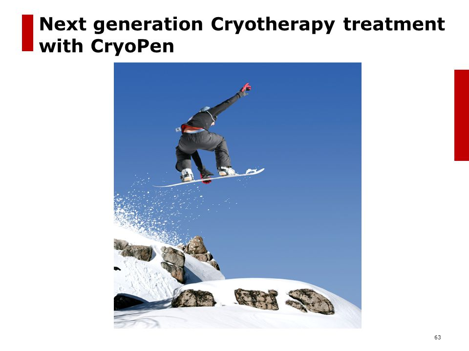 Next generation Cryotherapy treatment with CryoPen