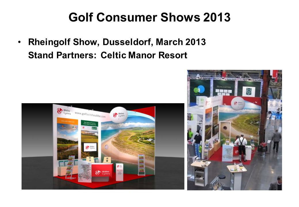 Golf Consumer Shows 2013 Rheingolf Show, Dusseldorf, March 2013